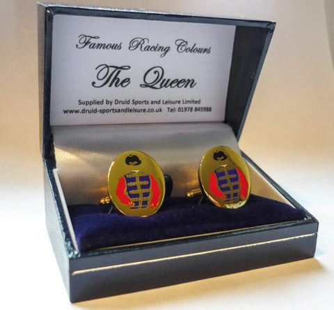 HM The Queen's cufflinks