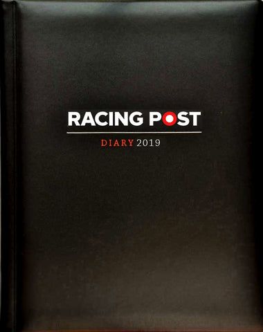 Racing Post Desk Diary 2019 - Deluxe leather edition
