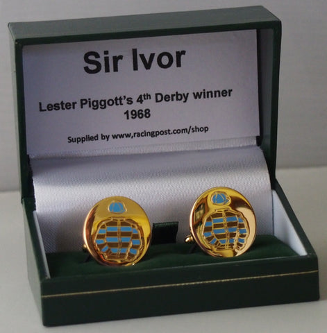 Sir Ivor cufflinks