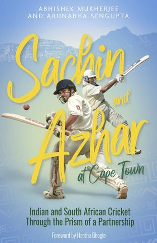 SACHIN AND AZHAR AT CAPE TOWN **Pre order now**