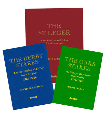 <b>The St Leger, The Derby Stakes and The Oaks Stakes multibuy</b><br> Signed Limited Editions