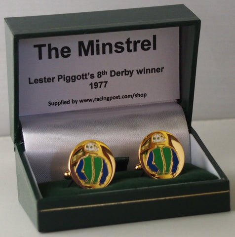 The Minstrel cufflinks