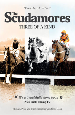 The Scudamores: Three of a Kind by Chris Cook paperback