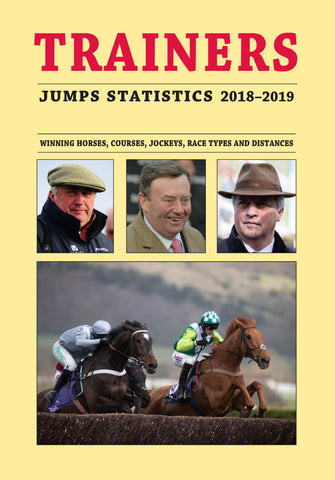 Trainers Jumps Statistics 2018-2019 *** Pre-order Now ***