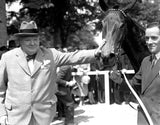 Churchill at the Gallop by Brough Scott <br>Flexi-bind edition <br>*** Pre-order Now ***