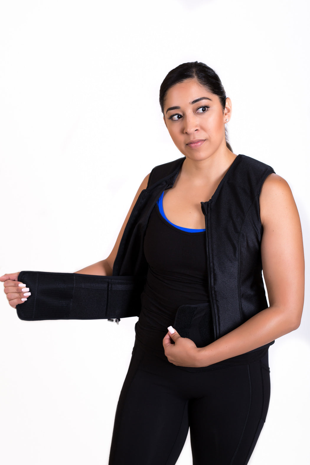 WEIGHT VEST - POWER BLACK (4 lbs of Weight Thins included)