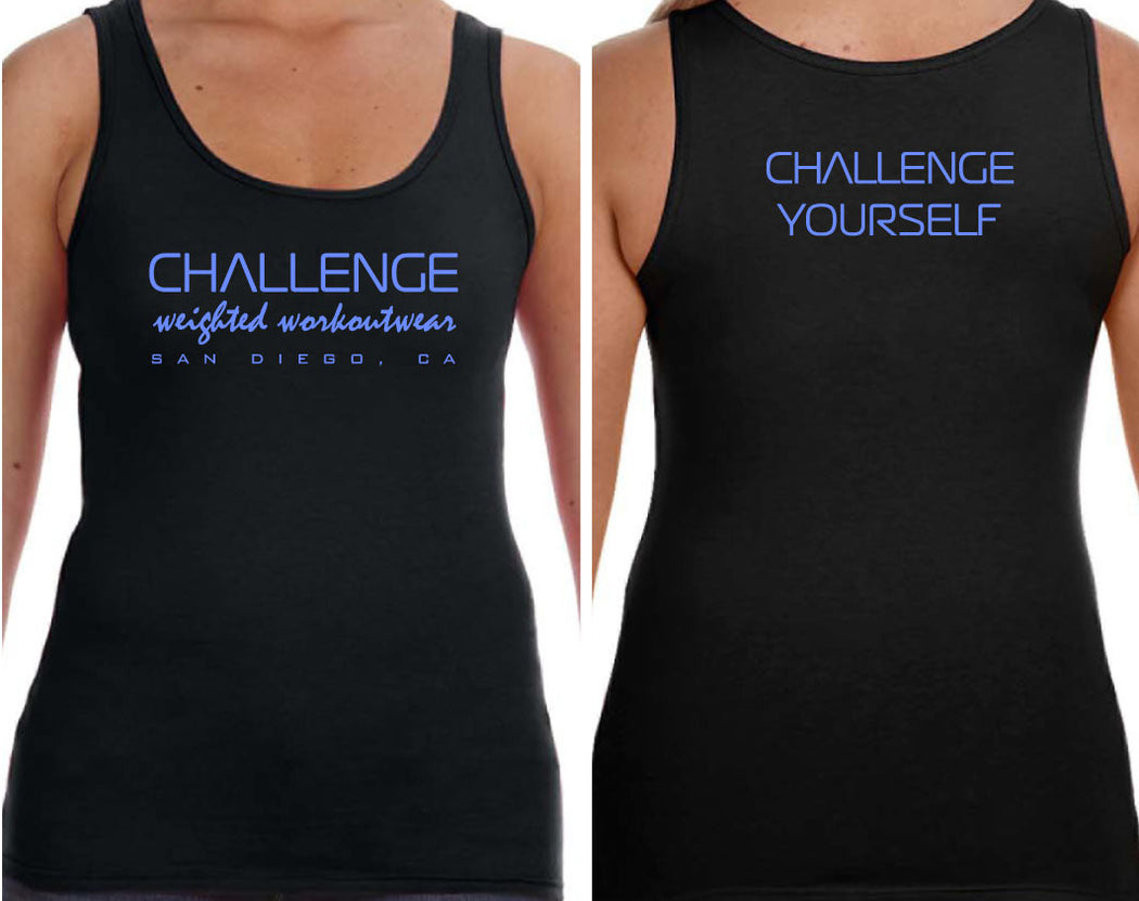 CWW TANK TOPS - BLACK (Front/Back print)
