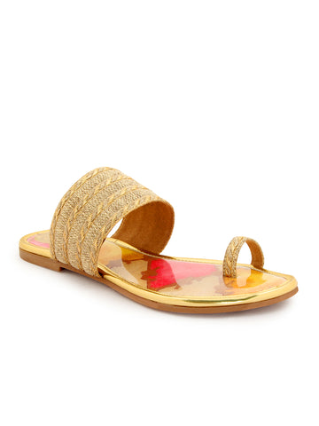 Gold Multi-base Ethnic Flat