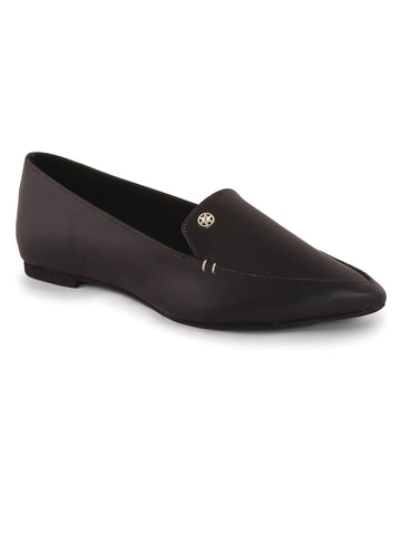Black Oxford Ballerina's