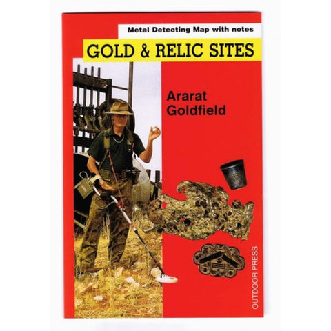 VIC - Gold & Relic Sites - Metal Detecting Maps - Region: Ararat for Prospectors by Doug Stone