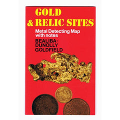 VIC - Gold & Relic Sites - Metal Detecting Maps - Region: Bealiba-Dunolly for Prospecting by Doug Stone