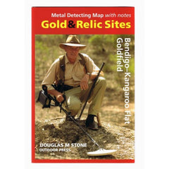 VIC - Gold & Relic Sites - Metal Detecting Maps - Region: Bendigo-Kangaroo Flat for Prospectors by Doug Stone