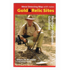 VIC - Gold & Relic Sites - Metal Detecting Maps - Region: Bendigo-Whipstick for Prospecting by Doug Stone