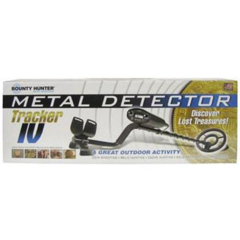 Bounty Hunter Tracker 4 IV Metal Gold Treasure Detector + BONUS Trowel & Pouch  *AUSTRALIAN WARRANTY*