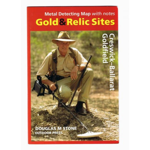 VIC - Gold & Relic Sites - Metal Detecting Maps - Region: Creswick-Ballarat for Prospecting by Doug Stone