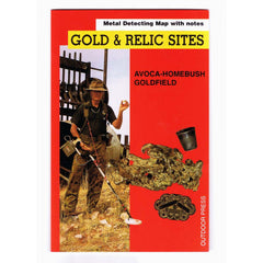 VIC - Gold & Relic Sites - Metal Detecting Maps - Region: Avoca-Homebush for Prospectors - Doug Stone