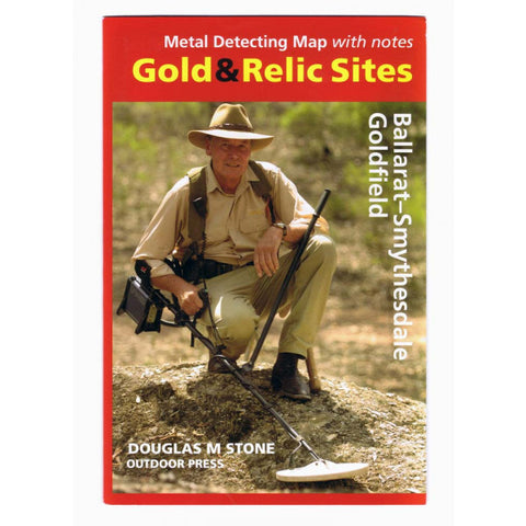 VIC - Gold & Relic Sites - Metal Detecting Maps - Region: Ballarat-Smythesdale for Prospecting by Doug Stone