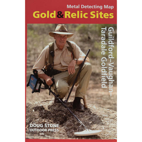 VIC - Gold & Relic Sites - Metal Detecting Maps - Region: Guildford-Vaughan for Prospecting by Doug Stone