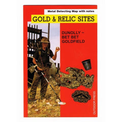 VIC - Gold & Relic Sites - Metal Detecting Maps - Region: Dunolly-Bet Bet for Prospecting by Doug Stone