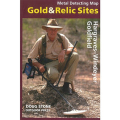 NSW - Gold & Relic Sites - Metal Detecting Maps - Region: Hargraves-Windeyer for Prospecting by Doug Stone