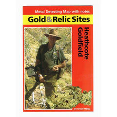 VIC - Gold & Relic Sites - Metal Detecting Maps - Region: Heathcote