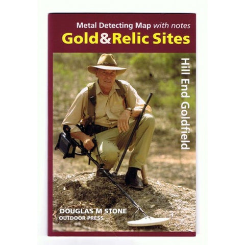 NSW - Gold & Relic Sites - Metal Detecting Maps - Region: Hill End for Prospecting By Doug Stone