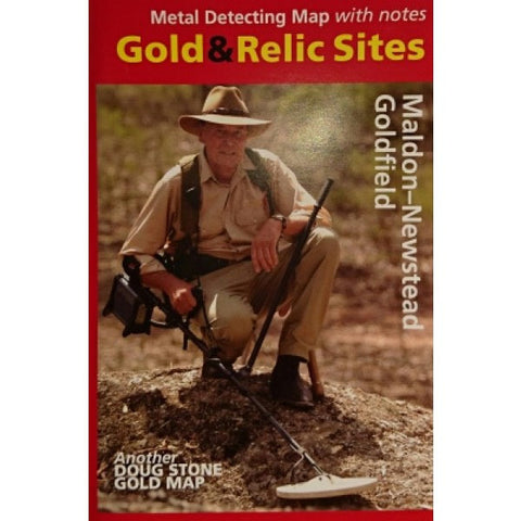 VIC - Gold & Relic Sites - Metal Detecting Maps - Region: Maldon-Newstead for Prospecting by Doug Stone