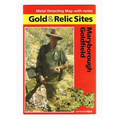 VIC - Gold & Relic Sites - Metal Detecting Maps - Region: Maryborough for Prospecting by Doug Stone