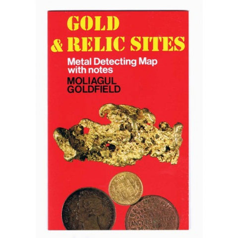 VIC - Gold & Relic Sites - Metal Detecting Maps - Region: Moliagul - for Prospecting by Doug Stone