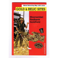 VIC - Gold & Relic Sites - Metal Detecting Maps - Region: Redbank-Moonambel for Prospecting by Doug Stone