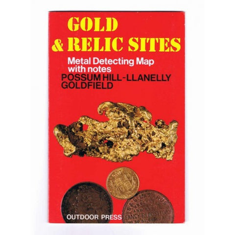 VIC - Gold & Relic Sites - Metal Detecting Maps - Region: Possum Hill-Llanelly for Prospecting by Doug Stone