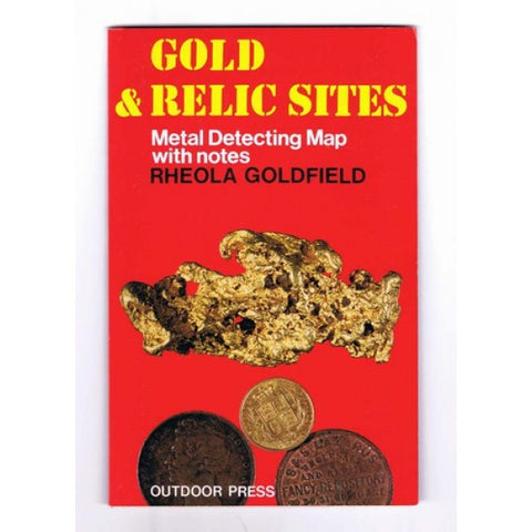 VIC - Gold & Relic Sites - Metal Detecting Maps - Region: Rheola for Prospecting by Doug Stone