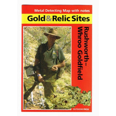 VIC - Gold & Relic Sites - Metal Detecting Maps - Region: Rushworth-Whroo for Prospecting by Doug Stone