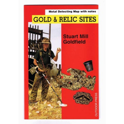 VIC - Gold & Relic Sites - Metal Detecting Maps - Region: Stuart Mill for Prospectors by Doug Stone