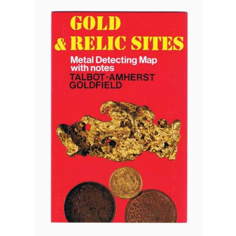 VIC - Gold & Relic Sites - Metal Detecting Maps - Region: Talbot-Amherst for Prospectors by Doug Stone