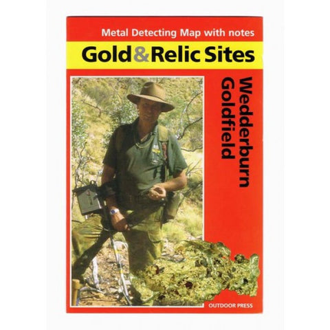 VIC - Gold & Relic Sites - Metal Detecting Maps - Region: Wedderburn for Prospecting by Doug Stone
