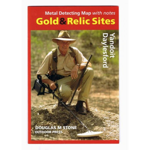 VIC - Gold & Relic Sites - Metal Detecting Maps - Region: Yandoit-Daylesford for Prospecting by Doug Stone