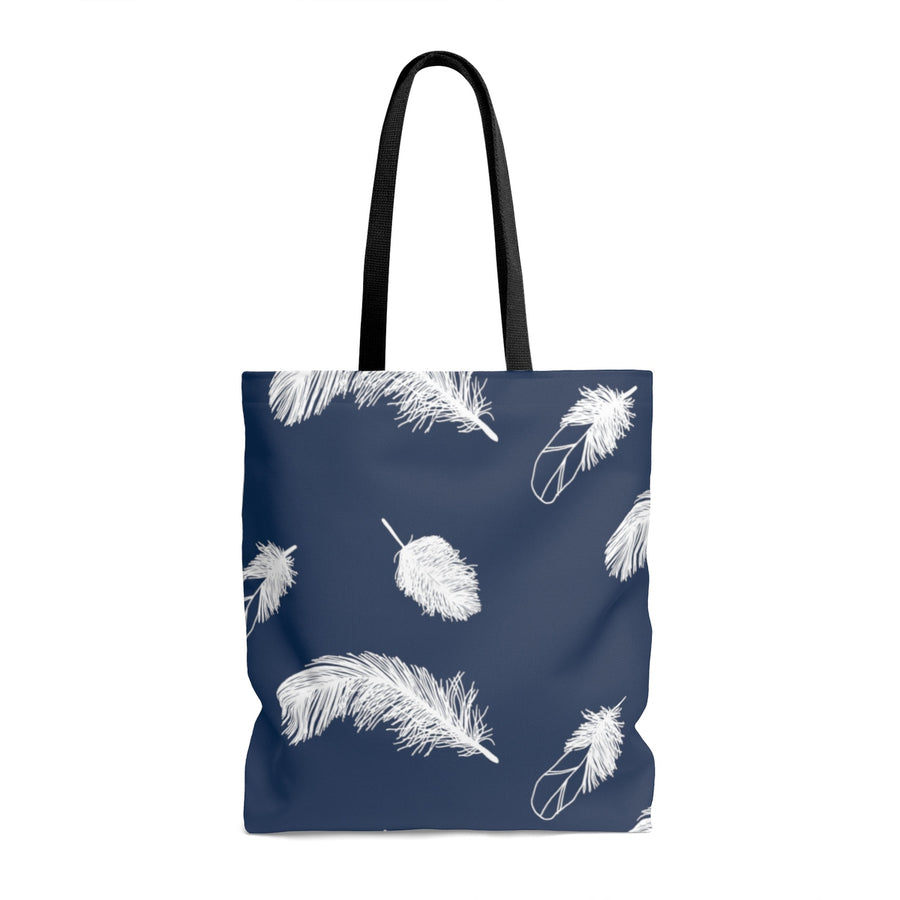 Oxford Feather AOP Tote Bag