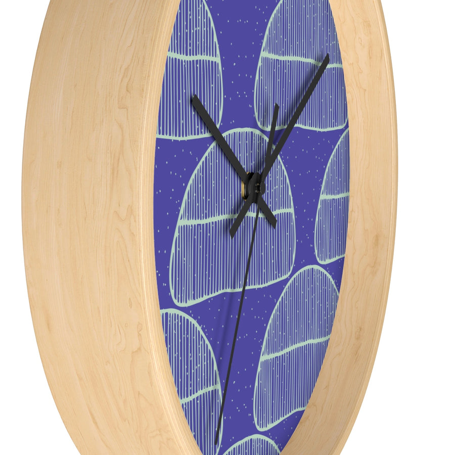 Cool Blues Wall clock