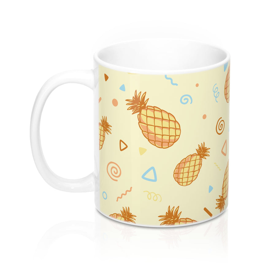 Vintage Pineapples Mugs