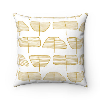 Cute Trees Square Pillow - Design Prints