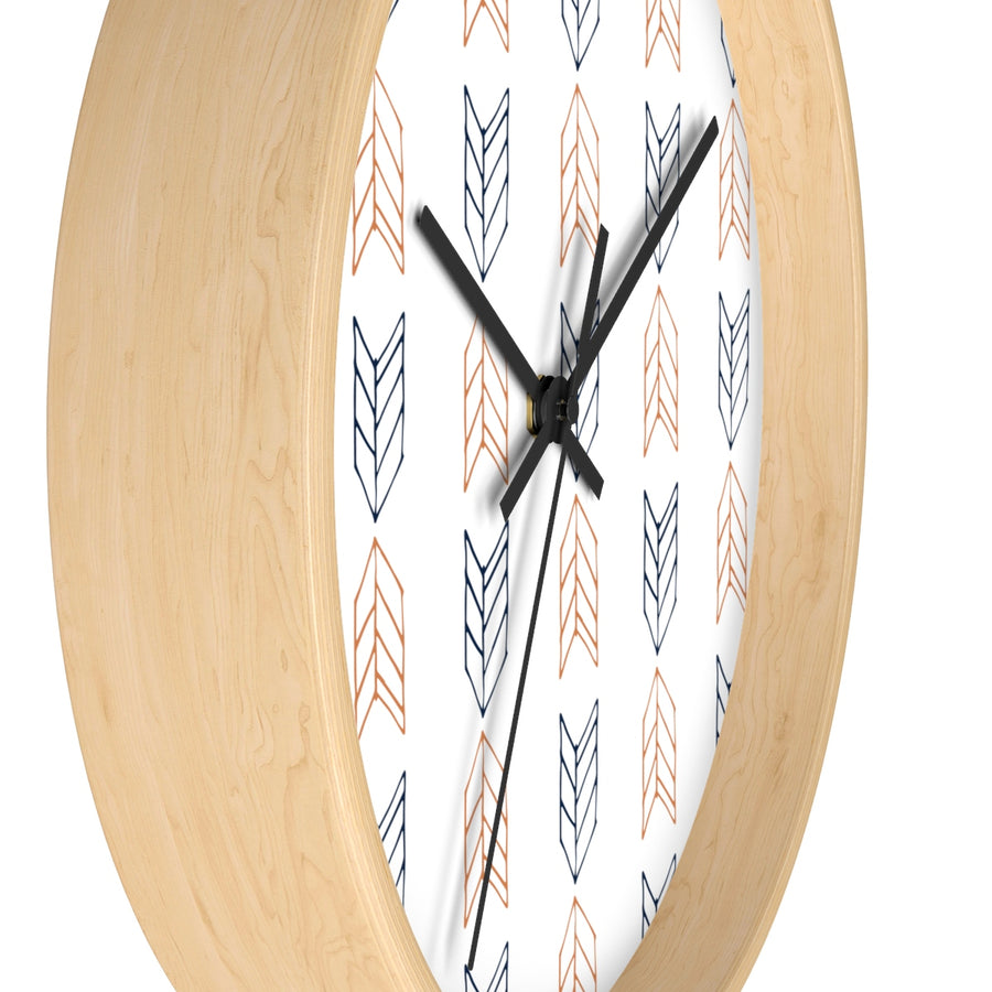 Up Down Arrows Wall clock