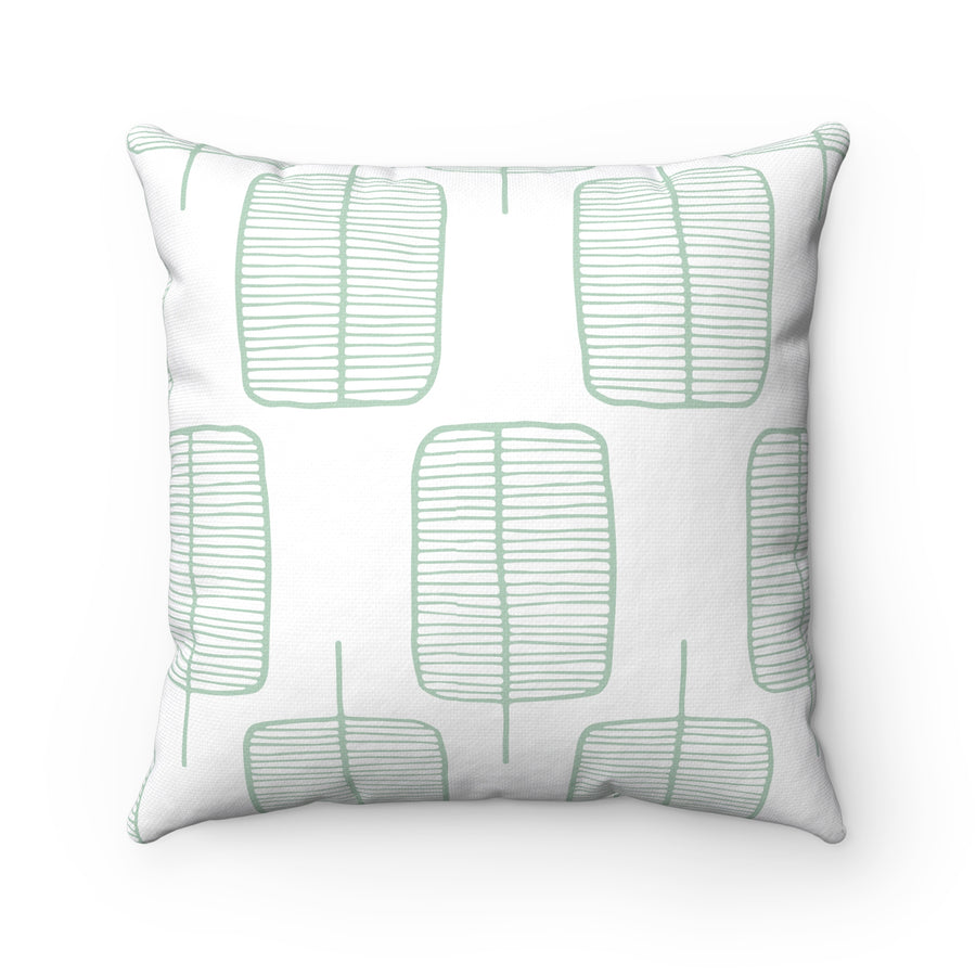 Calm Trees Square Pillow