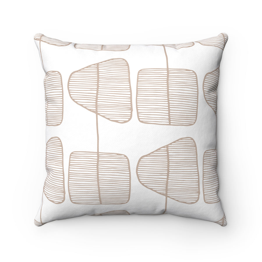 Simple Trees Spun Polyester Square Pillow Case