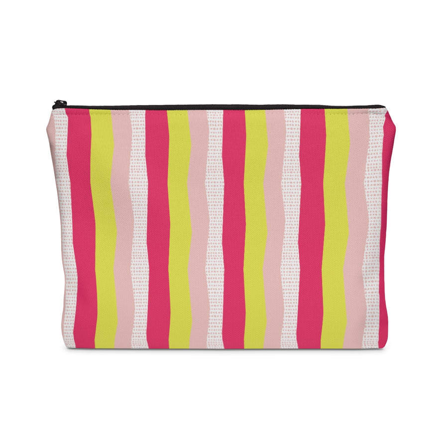 Sweet Stripes Carry All Pouch