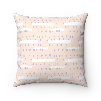 Purple Rain Spun Polyester Square Pillow Case - Design Prints