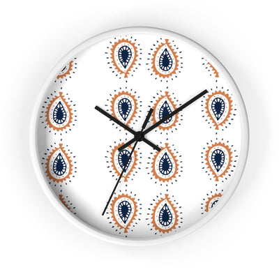 Boho Eyedrop Wall clock - Design Prints