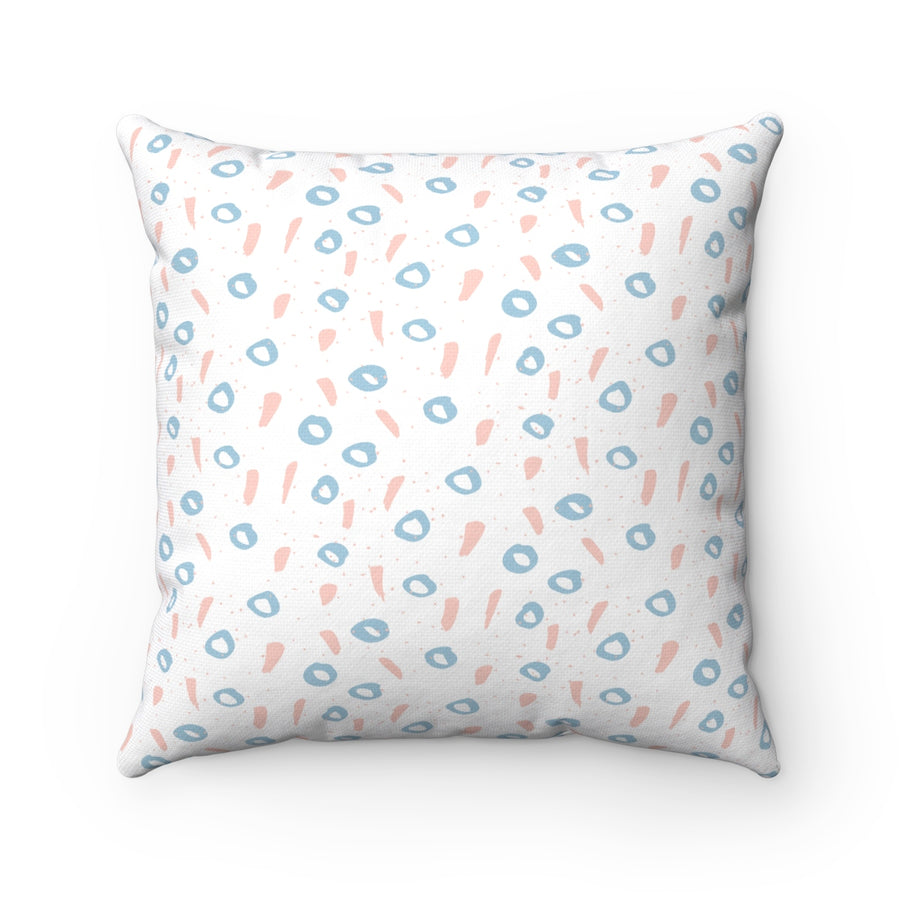 Of One's And O's Square Pillow