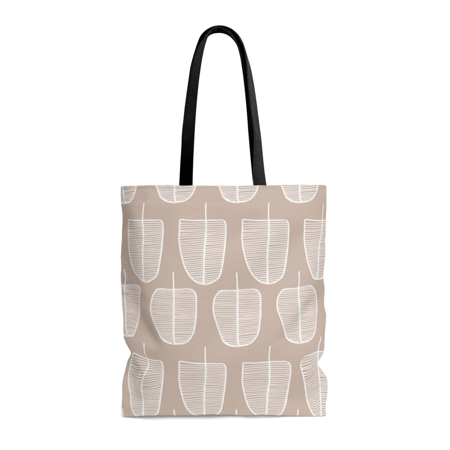 Brown Forest AOP Tote Bag