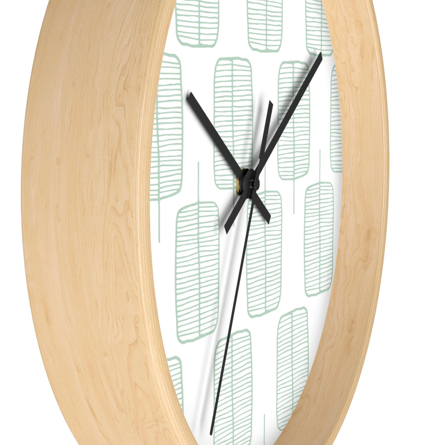 Calm Trees Wall clock